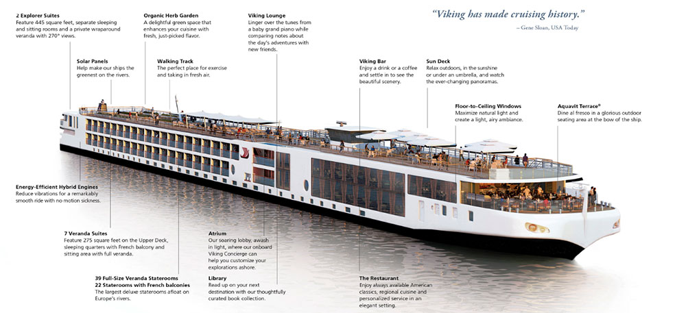 viking river cruises from aurora cruises and travel